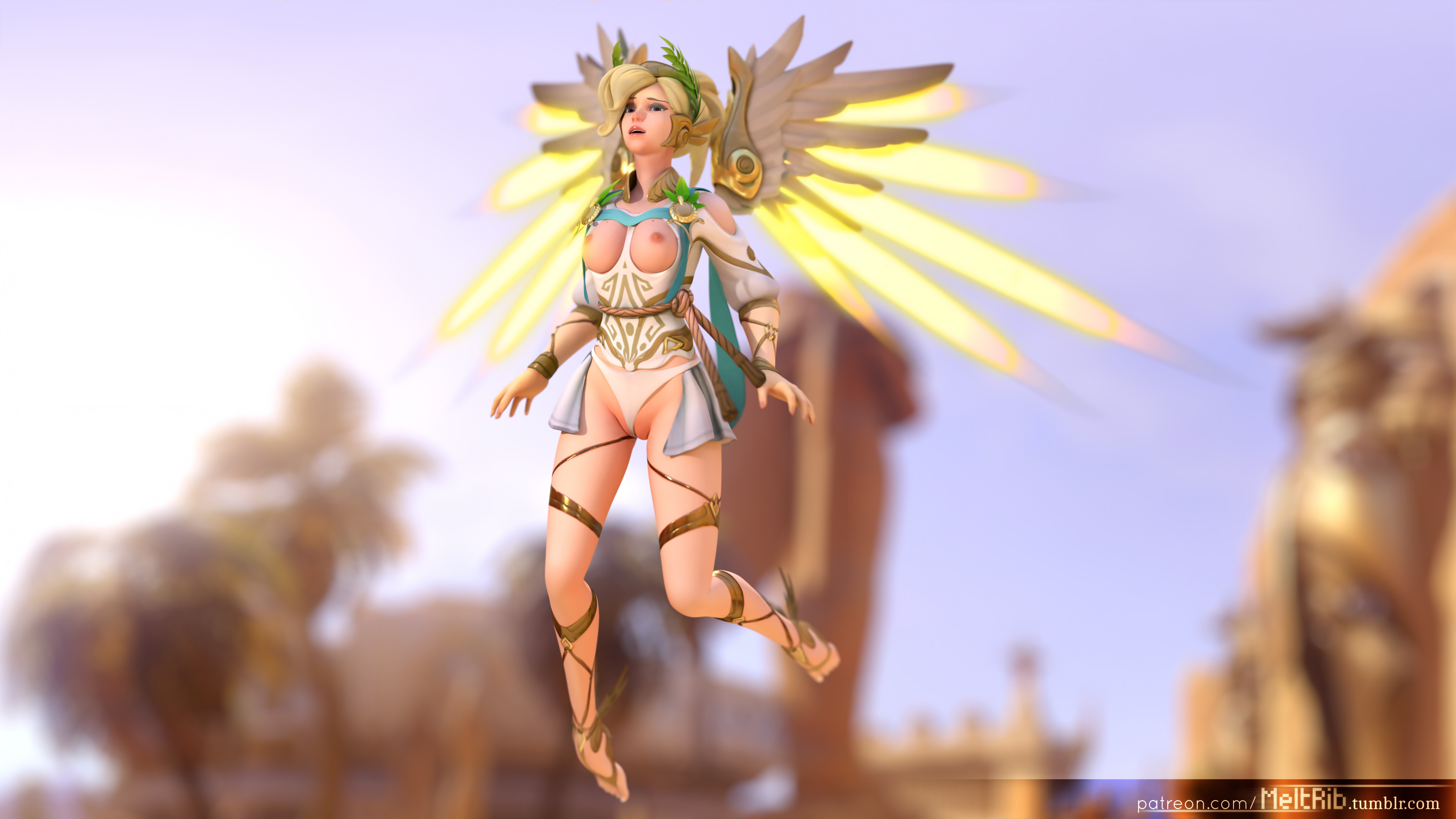 Overwatch Mercy Riding Pov