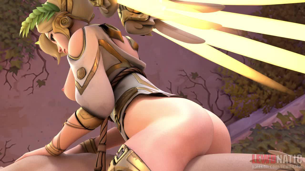 Overwatch Genji X Mercy