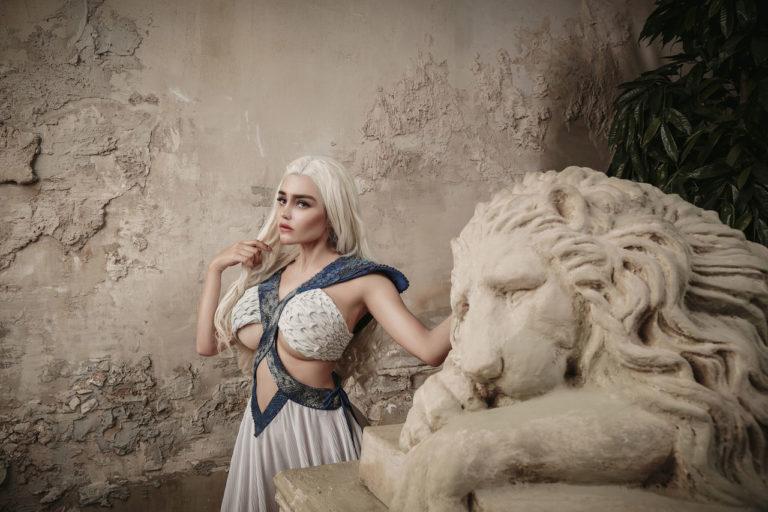 Kalinka Fox (Christina Fink) - Daenerys - OverSexy