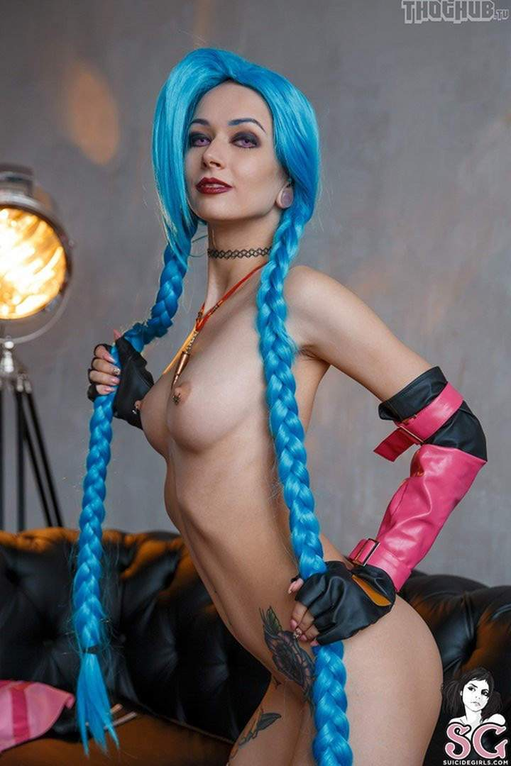 Nova White Jinxed Cosplay Blowjob And Fac Anysex 1
