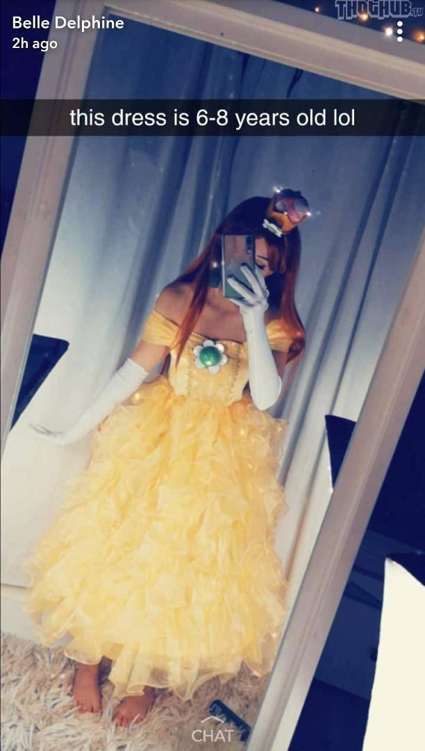Belle Delphine Cindy Aurum Cosplay - Social Media Girls