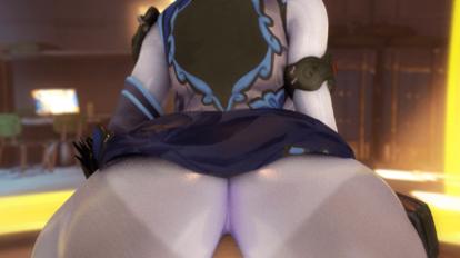 Black Lily Widowmaker butt