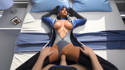 Ana Fucked by Soldier: 76